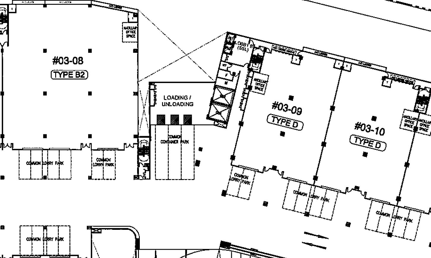 Space Tampines Floor Plans Factory Warehouse Business
